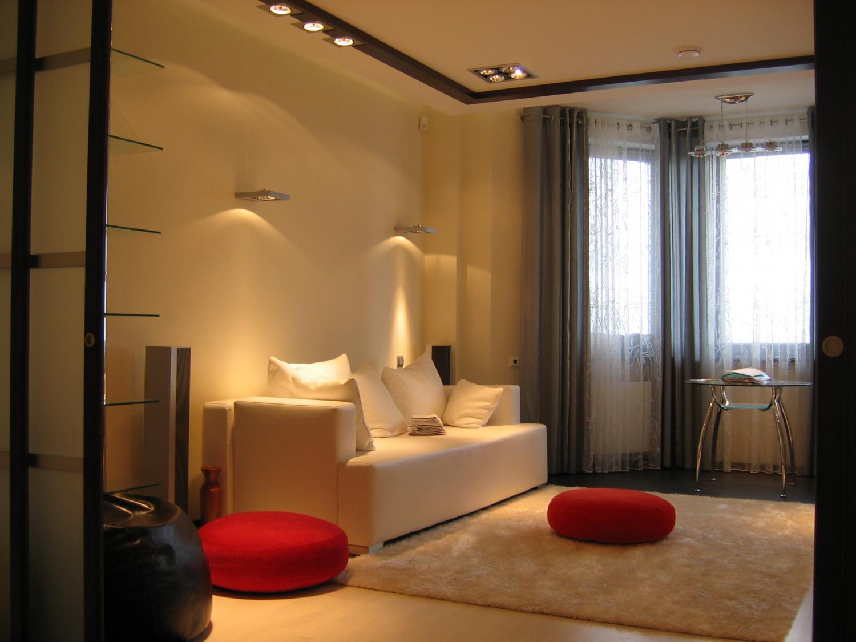 Ремонт в однокомнатной квартире дизайна