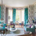 Дизайн гостиной с эркером - фото современных интерьеров
