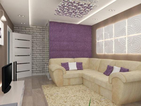 Фото бежевого дивана