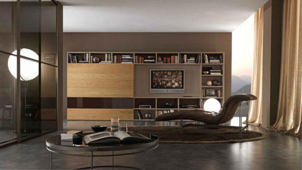 Чёрная мебель в минимализме