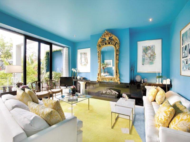 составить приказ цветовое решение потолка и стен гостинной