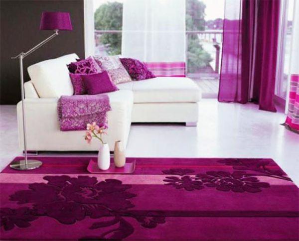 Сиреневый ковёр