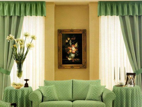Два окна в комнате