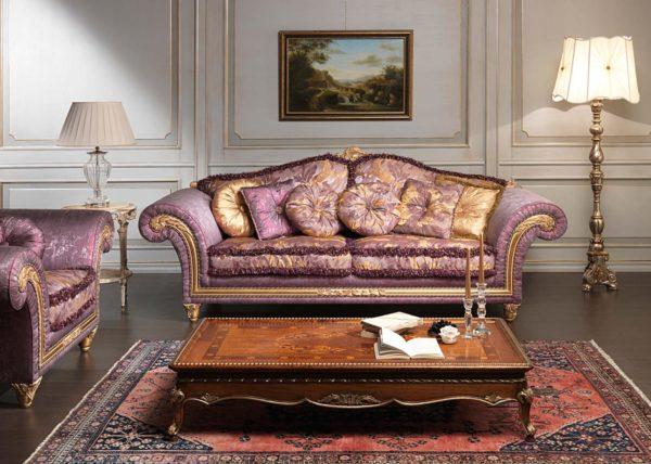 Сиреневая мебель фото