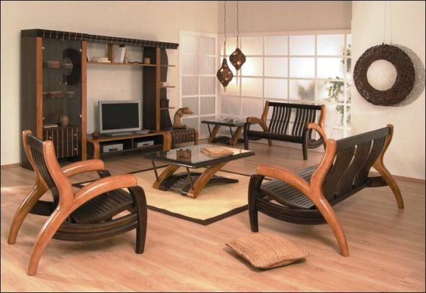 Оригинальная деревянная мебель