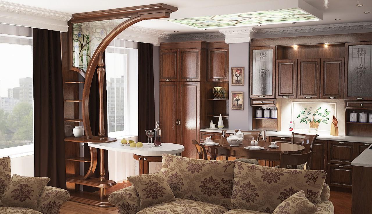 Дизайн кухни гостиной 30 кв м — 50 фото интерьеров