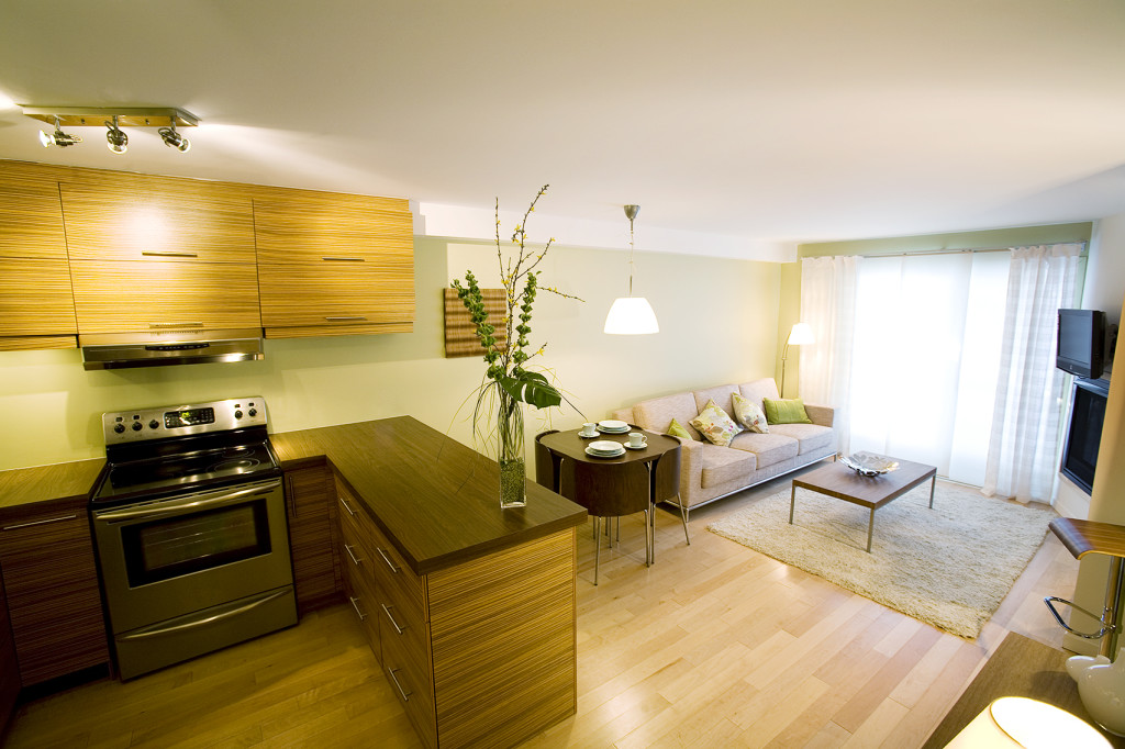 New appartment