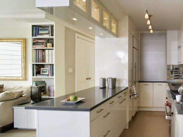 Кухня-гостиная 17 кв.м