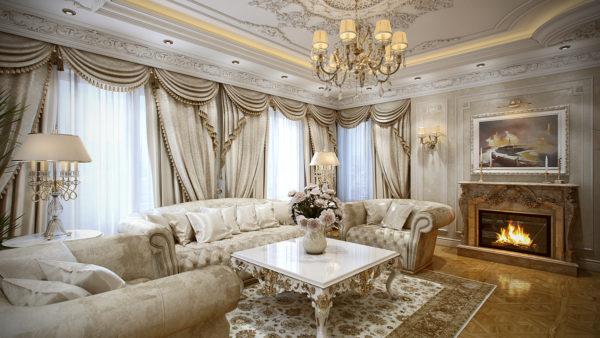 Перситский ковёр в британском стиле