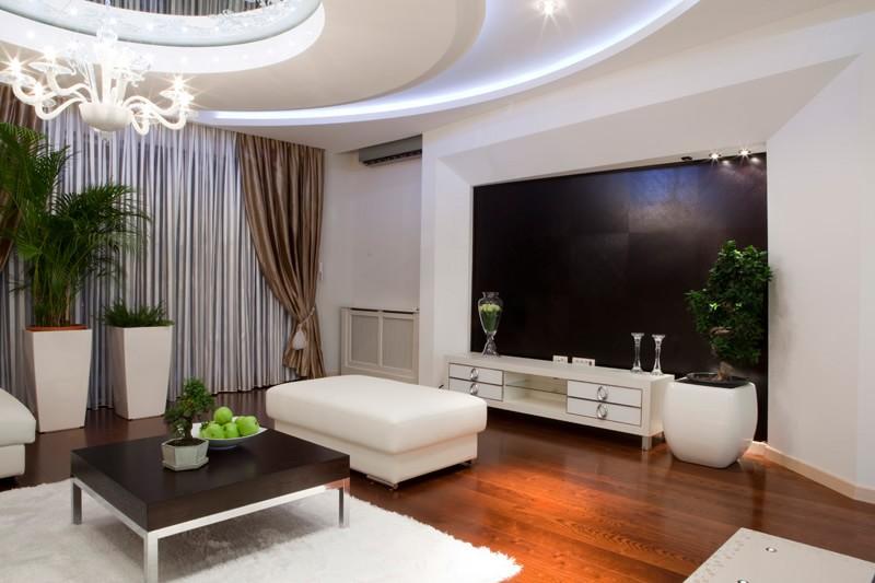 Дизайн зала в частном доме своими руками фото