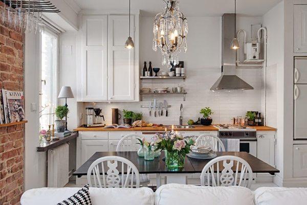 Кухня-гостиная 13 кв.м