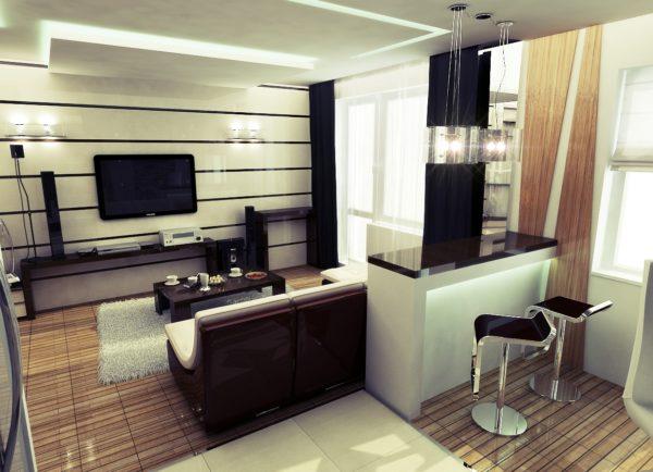 13 кв.м кухня-гостиная