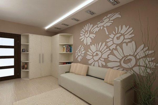 Сочетание дивана с интерьером