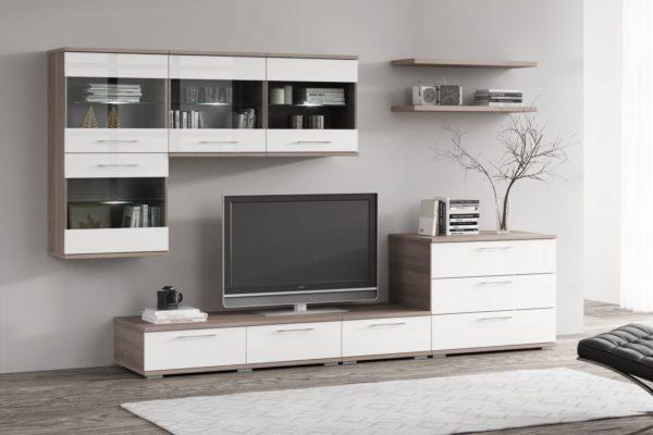 Белая корпусная мебель фото