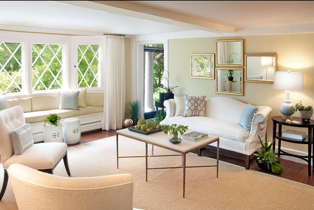 Дизайн гостиной с эркером — фото современных интерьеров