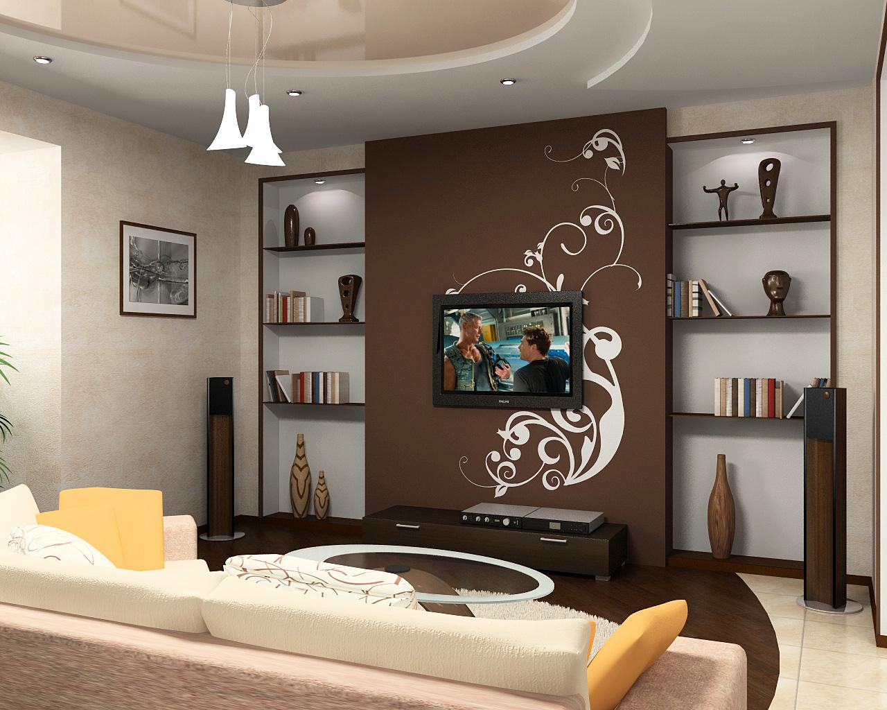 Интерьер небольшого зала в квартире фото