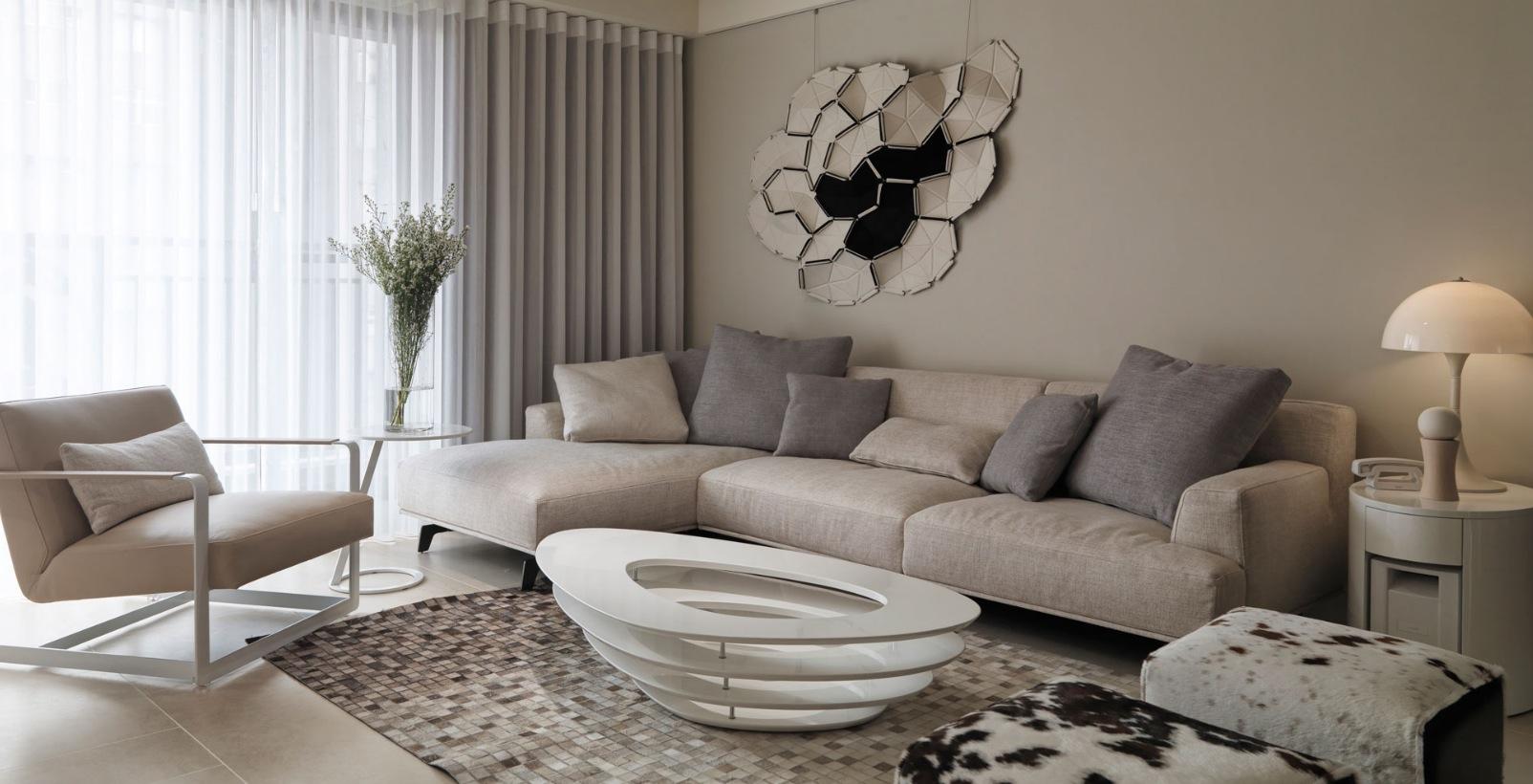 Wandfarben grau kombinieren