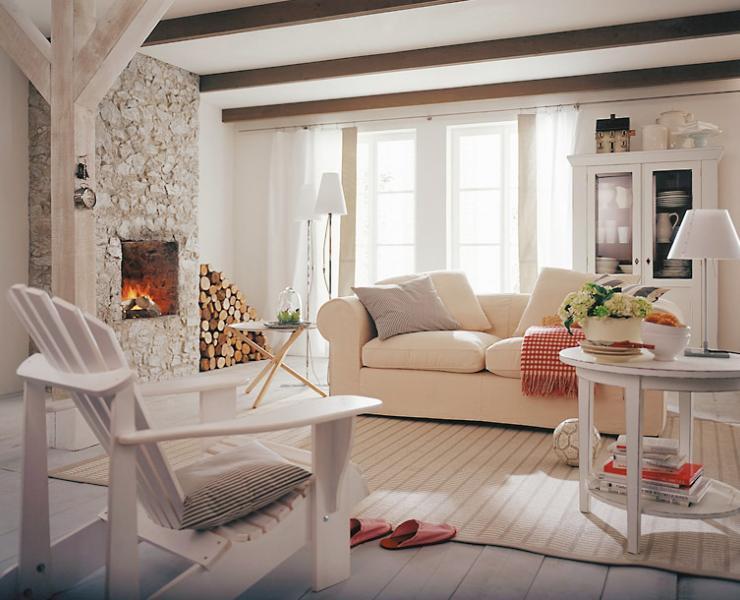 Wohnzimmer Design Landhaus