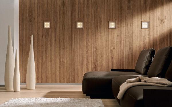 Деревянные панели в гостиной фото