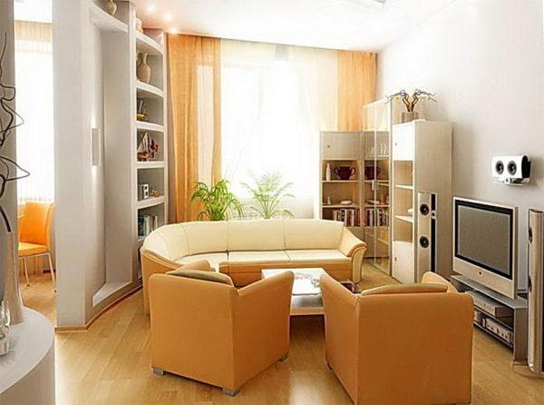 Маленька уютная гостиная