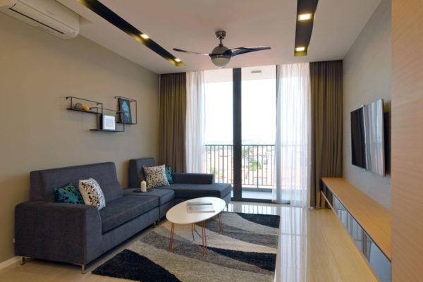 Маленький зал в гостиной