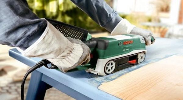 Ленточная шлифовальная машина: назначение, применение и принцип работы