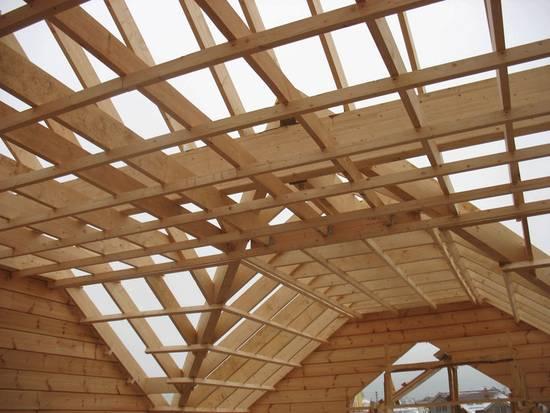 Быстровозводимые деревянные перекрытия для этажей в доме из газобетона