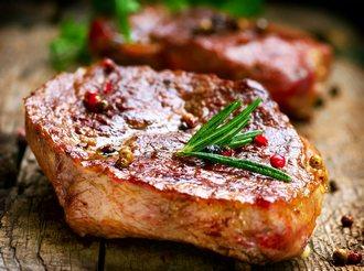 рецепт стейка из свинины на сковороде с фото пошагово