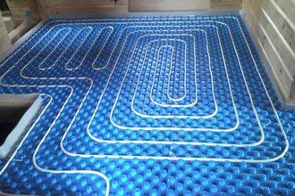 Водяной теплый пол – надежное дополнительное отопление для жилья
