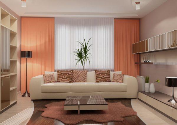 Фото мебели для гостиной 18 кв.м