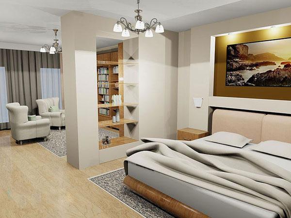Фото гостиной-спальни 20 кв.м