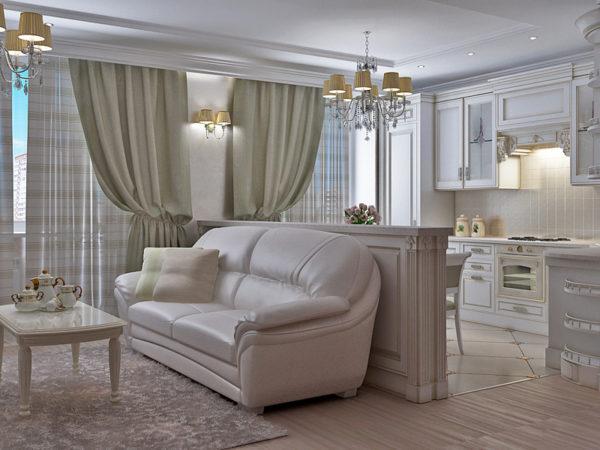 Коженый классический диван фото