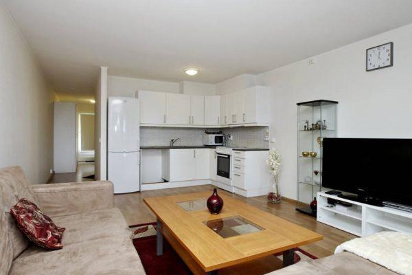 Уютная гостиная-кухня