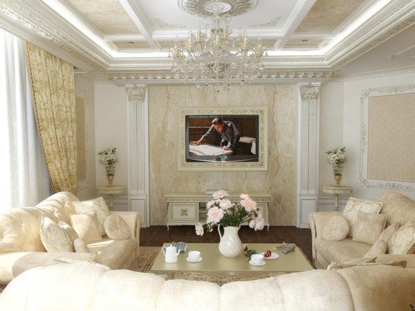 Классический стиль гостиной