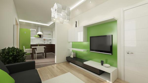 Маленькая гостиная в стиле минимализм