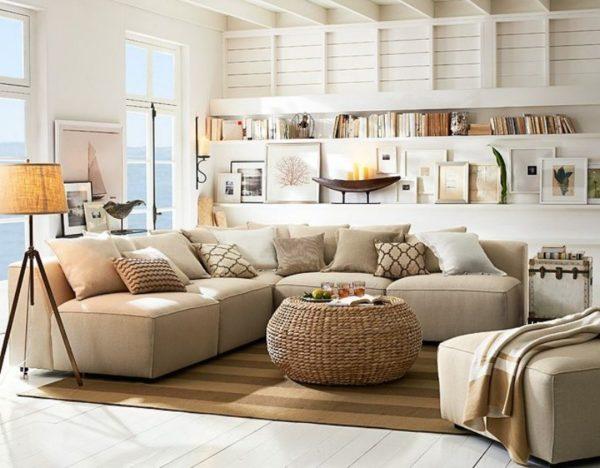 Фото стильного дизайна гостиной