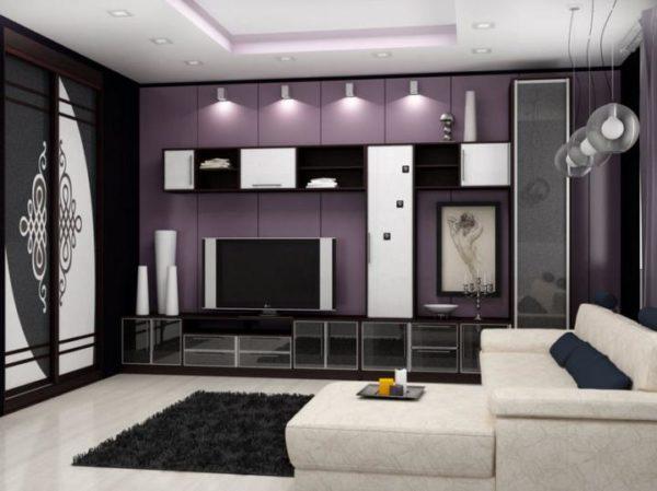 Современный дизайн стенки