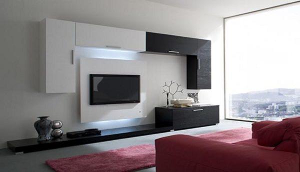 Сиреневая мебель в минимализме фото