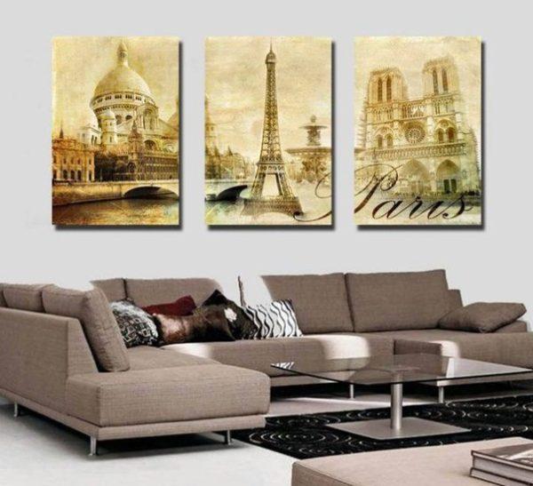 Париж на картине