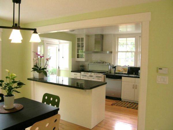 Кухня-гостиная 18 метров