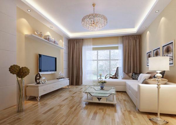 Фото освещения в гостиной