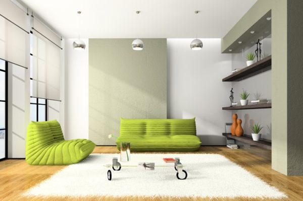 Оригинальные диваны в интерьере
