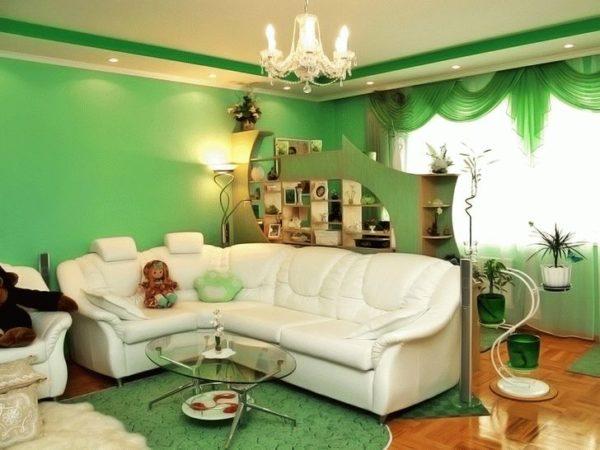 Зелёная гостиная