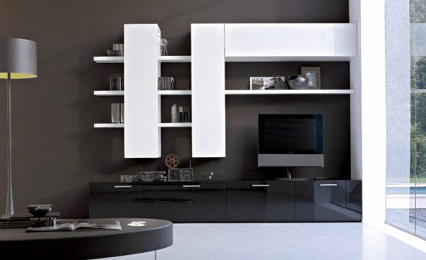 Корпусная мебель для гостиной в стиле Модерн