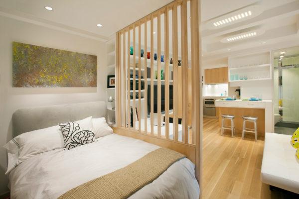Зонирование маленькой комнаты