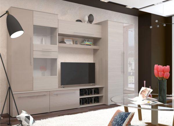 Светлые оттенки корпусной мебели