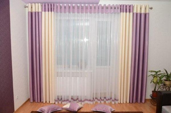 Комбинированные шторы