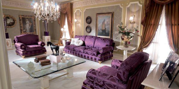 Фиолетовая мебель фото