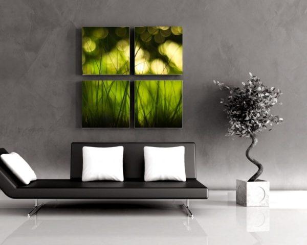 Зелень на картине