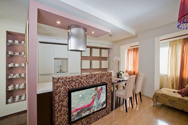 Кухня-гостиная 18 кв.м